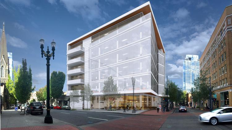 12th and Morrison - rendering